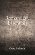 Cover for Roman Law Essentials