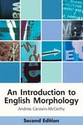 Cover for An Introduction to English Morphology
