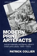 Cover for Modern Print Artefacts