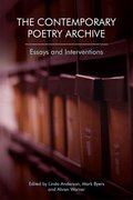 Cover for The Contemporary Poetry Archive