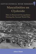 Cover for Masculinities on Clydeside