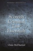 Cover for Scottish Criminal Law Essentials