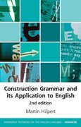 Cover for Construction Grammar and its Application to English