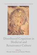 Cover for Distributed Cognition in Medieval and Renaissance Culture