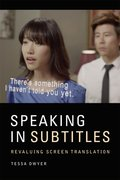 Cover for Speaking in Subtitles
