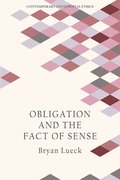 Cover for Obligation and the Fact of Sense