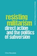 Cover for Resisting Militarism