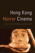 Cover for Hong Kong Horror Cinema