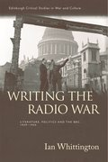 Cover for Writing the Radio War