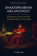 Cover for Shakespearean Melancholy