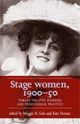 Cover for Stage women, 1900-50
