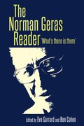 Cover for The Norman Geras reader - 9781526103864