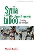 Cover for Syria and the Chemical Weapons Taboo