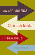 Cover for Law and violence