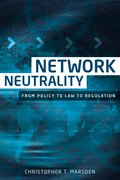 Cover for Network neutrality