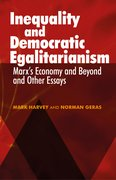 Cover for Inequality and Democratic Egalitarianism - 9781526114020
