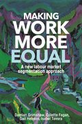 Cover for Making work more equal - 9781526117069