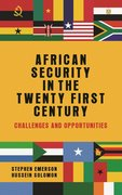 Cover for African security in the twenty-first century