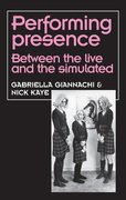 Cover for Performing Presence