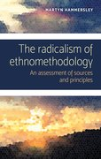 Cover for The radicalism of ethnomethodology