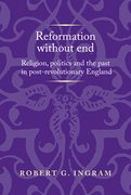 Cover for Reformation without end - 9781526126948