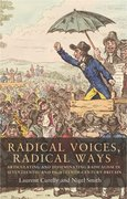 Cover for Radical voices, radical ways