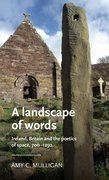Cover for A landscape of words