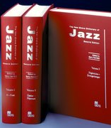 Cover for The New Grove Dictionary of Jazz