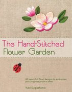 Cover for The Hand-Stitched Flower Garden