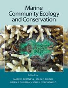 Cover for Marine Community Ecology and Conservation