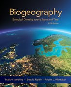 Cover for Biogeography