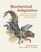 Cover for Biochemical Adaptation