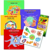 Cover for Enjoy Your Cells Series Coloring Books, 4-Book Gift Set