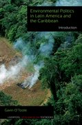 Cover for Environmental Politics in Latin America and the Caribbean volume 1