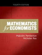 Cover for Mathematics for Economists