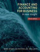 Cover for Finance and Accounting for Business - 9781784992712