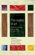 Cover for The matter of Art