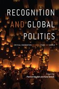 Cover for Recognition and global politics