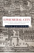 Cover for Ephemeral city