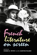 Cover for French literature on screen