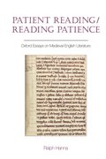 Cover for Patient Reading/Reading Patience