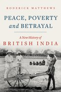 Cover for Peace, Poverty and Betrayal - 9781787383852