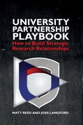 Cover for The University Partnership Playbook