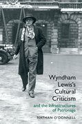 Cover for Wyndham Lewis