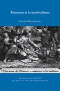 Cover for Rousseau et le matérialisme
