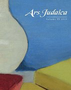 Cover for Ars Judaica: The Bar-Ilan Journal of Jewish Art, Volume 15