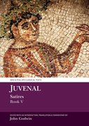 Cover for Juvenal: Satires Book V