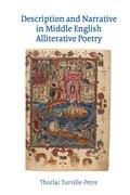 Cover for Description and Narrative in Middle English Alliterative Poetry