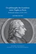 Cover for Un philosophe des Lumières entre Naples et Paris