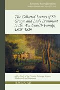 Cover for Collected Letters of Sir George and Lady Beaumont to the Wordsworth Family, 1803-1829